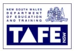 TAFE NSW - Graduate Certificate in Management Communication, Diploma of Call Center Management, Certificate IV in Telecommunications (Call Centers)